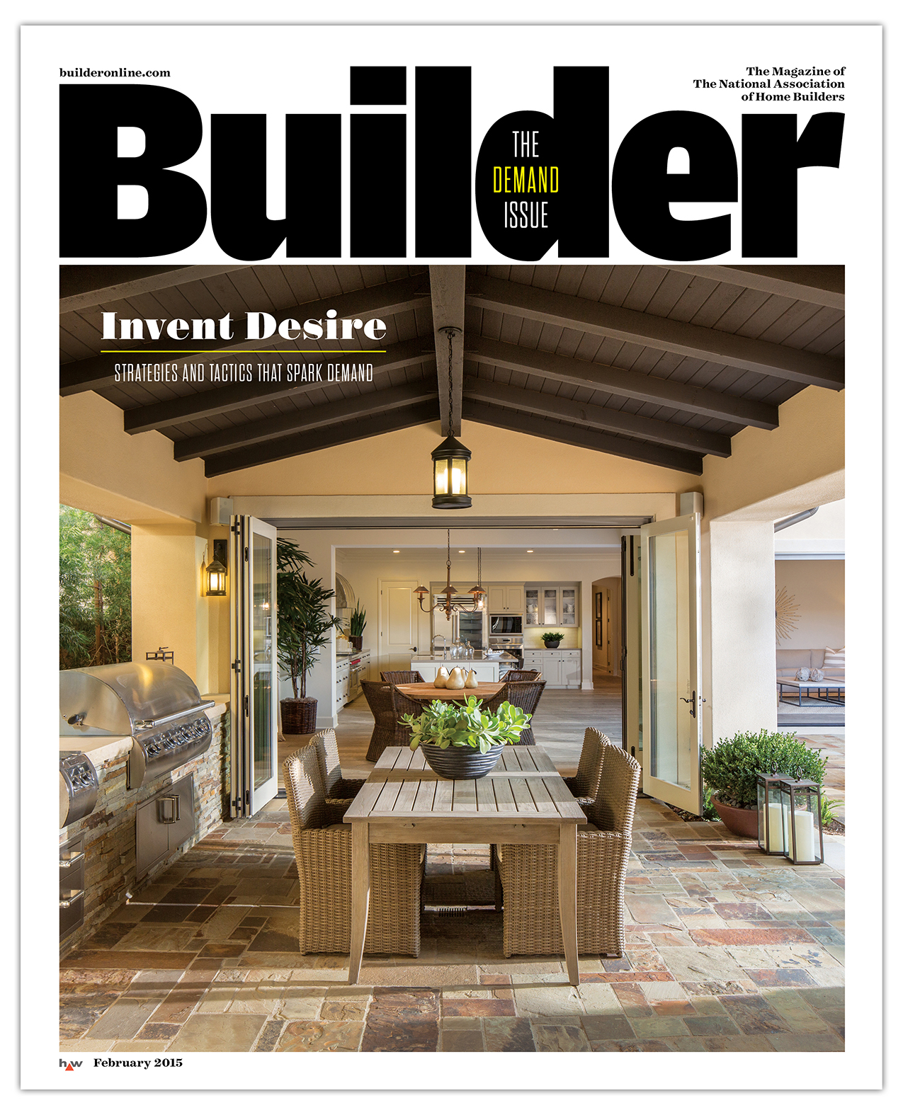Builder magazine subscription form for Home building magazines