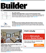 Builder magazine subscription application for Hanley wood magazines