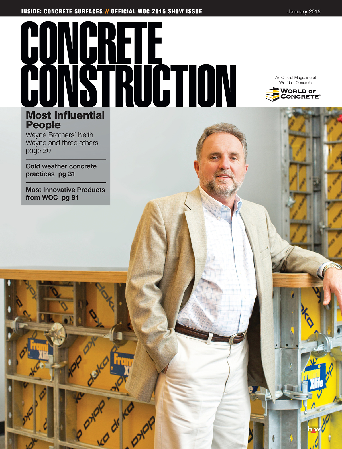 Concrete construction magazine subscription form for Hanley wood texas