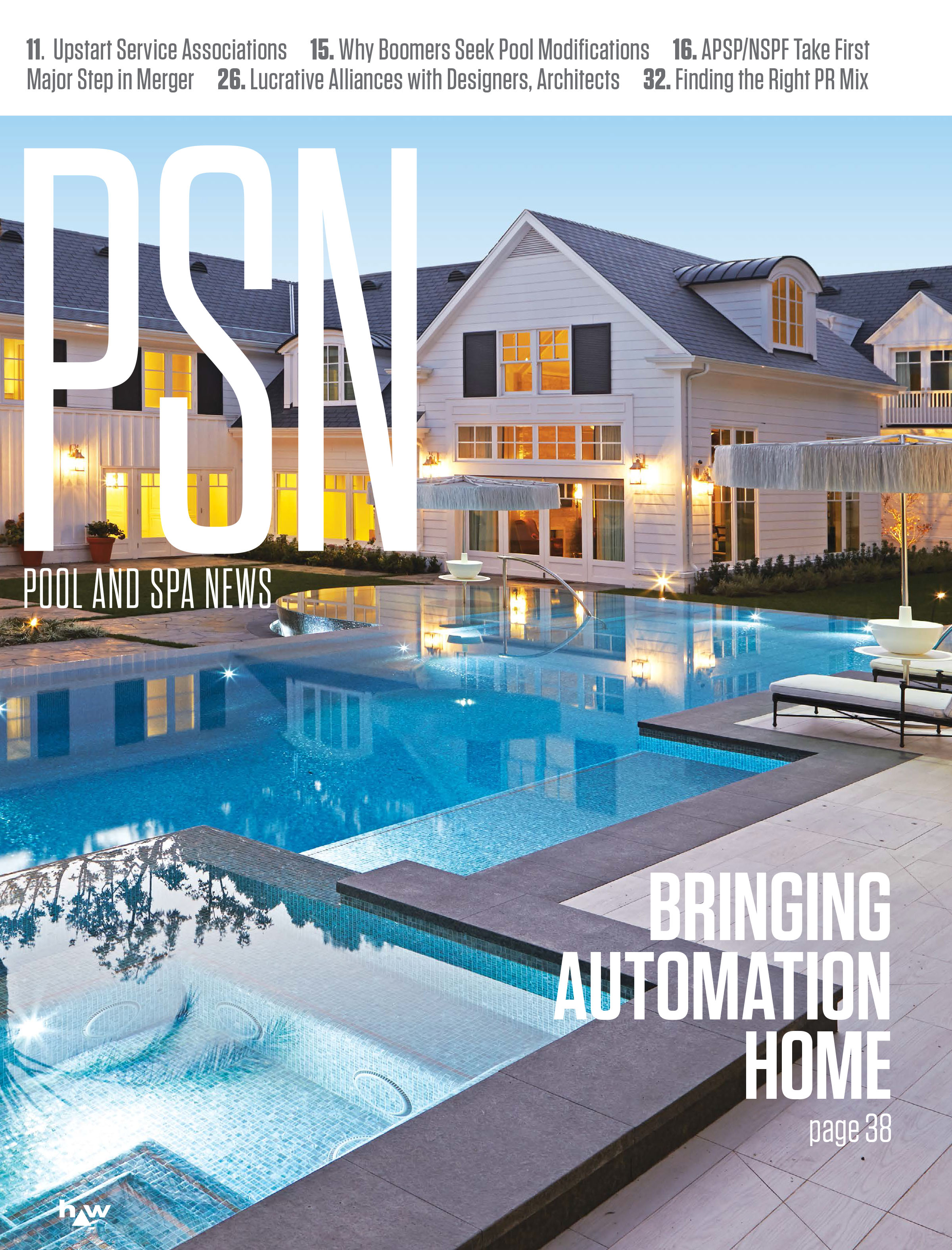 Pool and Spa News Magazine Subscription Application